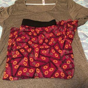 Lola skirt with shirt